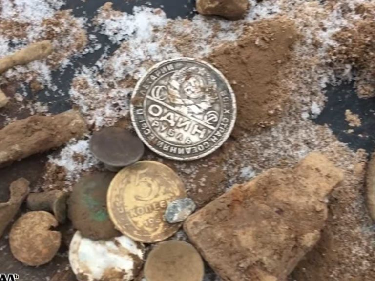 Серебряный советский рубль