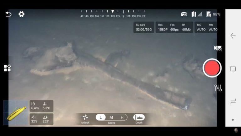 Подводный поиск Юрий Гагарин