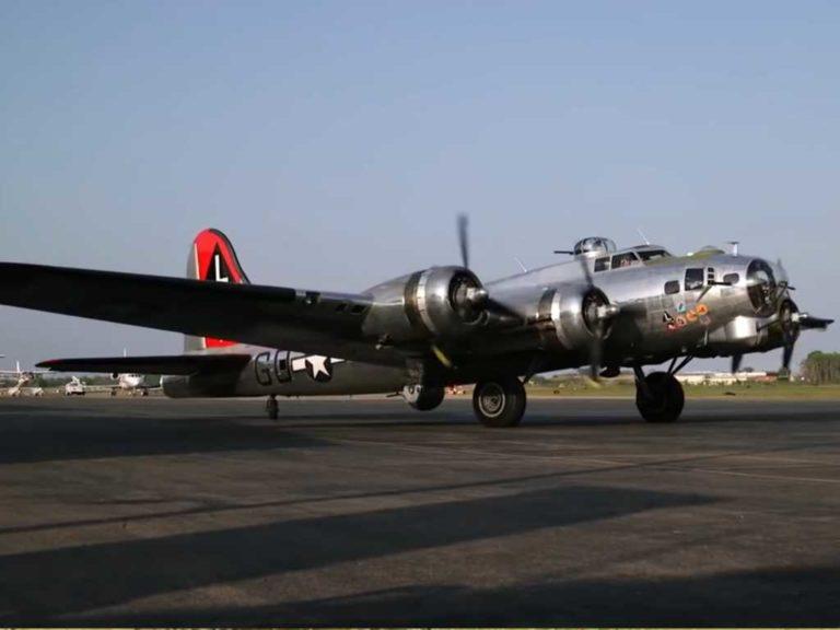 Черные копатели про самолеты б-17