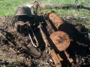 Мясной Бор третья часть - видео черных копателей