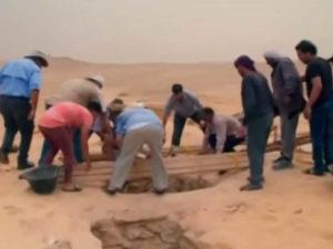 Раскопки древнего Египта - наши дни